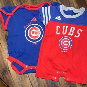 Adidas Chicago Cubs body suits